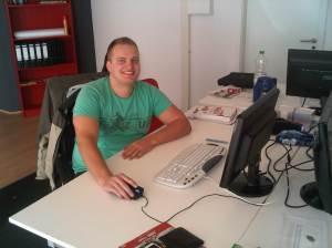Der erste Arbeitstag bei der Rhinos Media UG