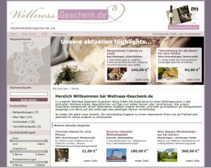 Online-Shop - Wellness-Geschenk.de