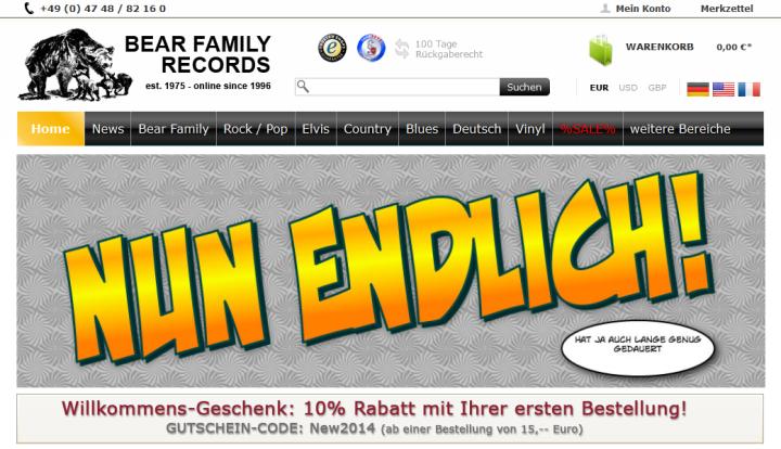 Bear Family - Shopware Enterprise