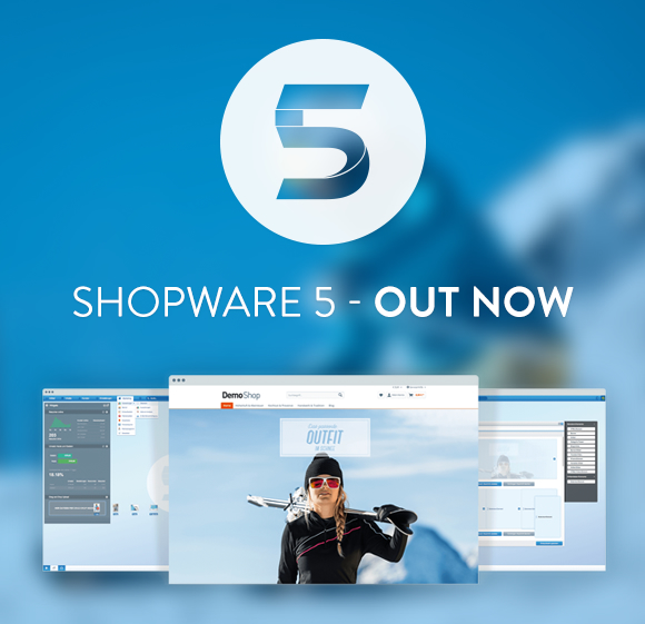 Shopware 5 OUT NOW